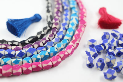 Unique Beads in Assorted Colors