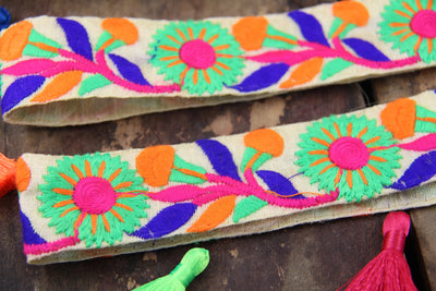Embroidered Sewing Trims