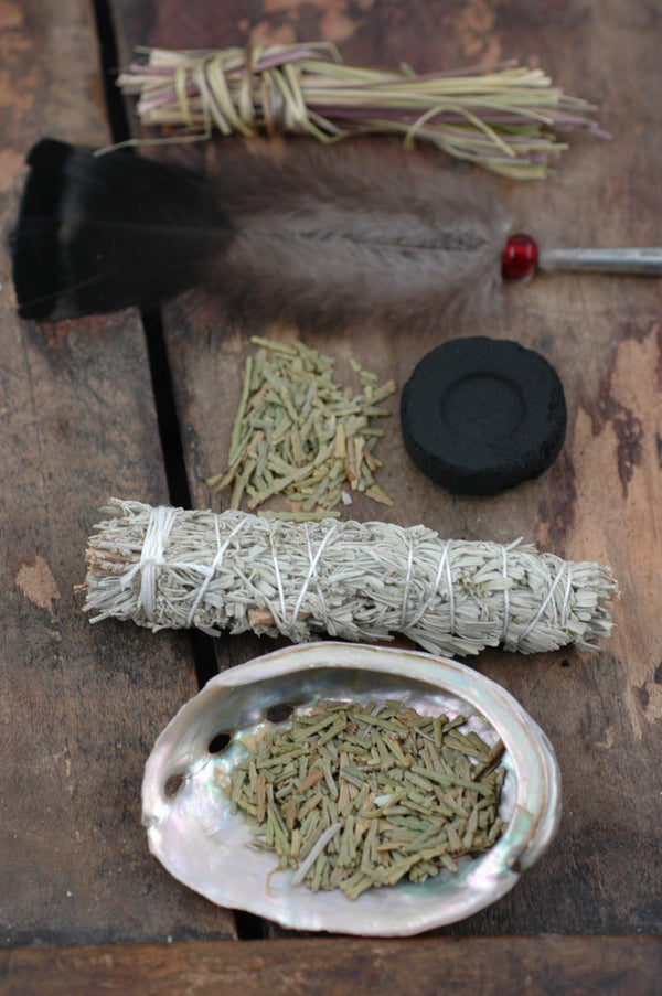 Smudge Kit, Positive Energy Ceremony, Beginner's Kit