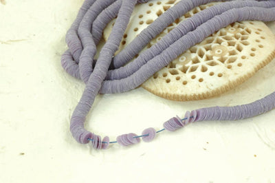 Orchid Love: Opaque Purple Vintage Faceted Celluloid Sequins, 4mm - ShopWomanShopsWorld.com. Bone Beads, Tassels, Pom Poms, African Beads.