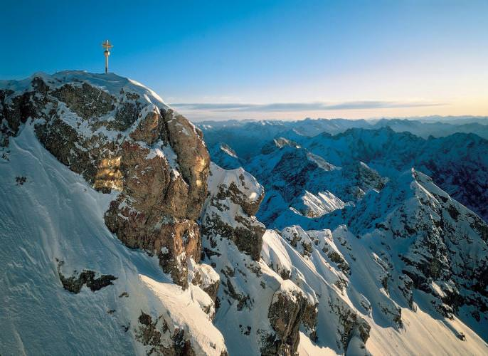 Zugspitze highest point Germany