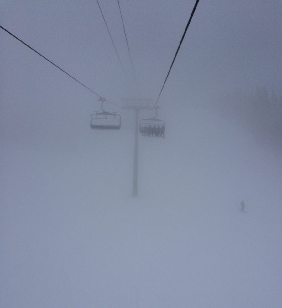 white out skiing park city