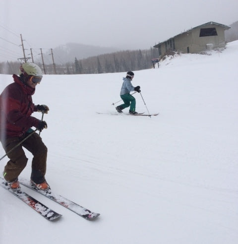 Telemark skiing Park City Mountain Resort