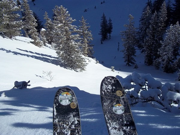 Team Free the Powder in Wasatch Backcountry