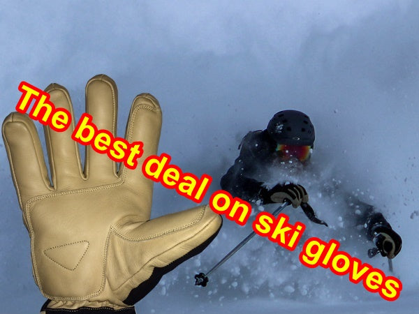 best deal on ski gloves