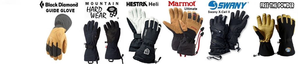 compare best ski glove models
