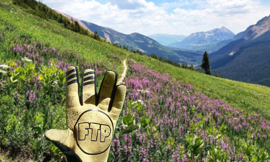 free the powder mountain bike gloves in Colorado