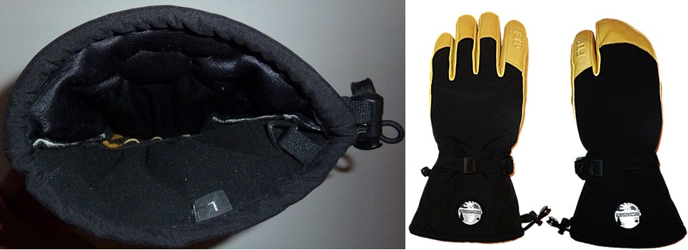 cleaning shells ski gloves