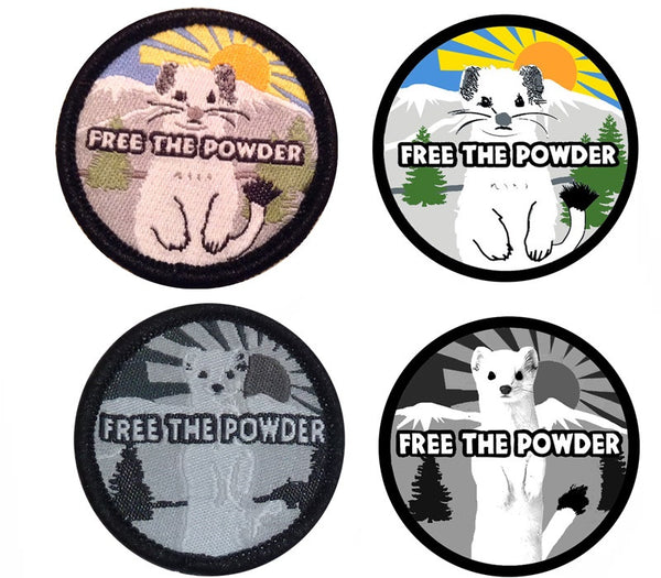 free the powder gloves logo