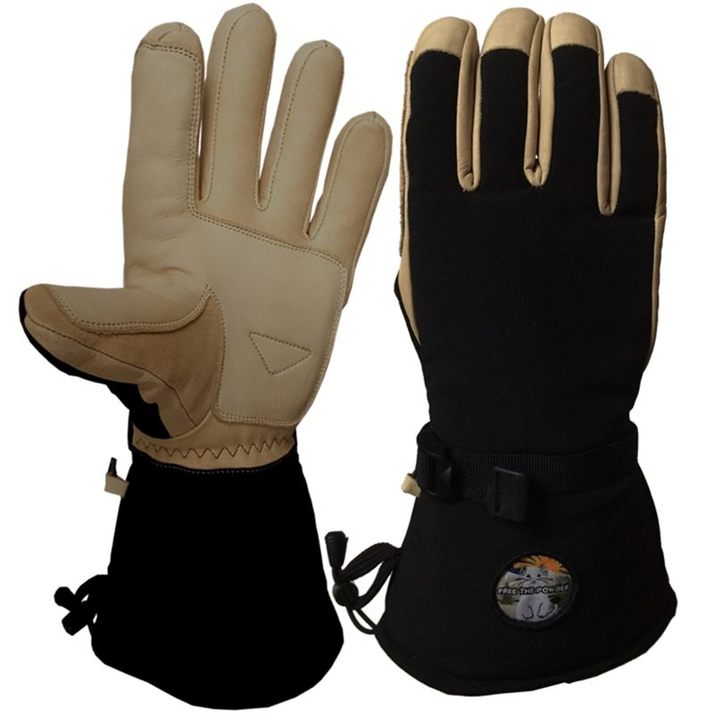 best deal on long cuff ski gloves