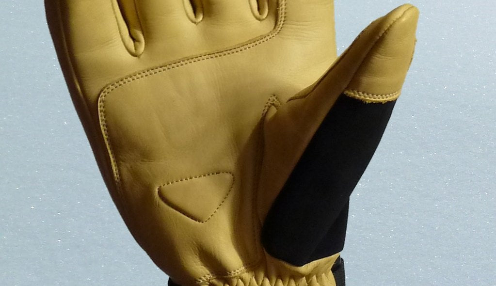 leather of rx ski glove