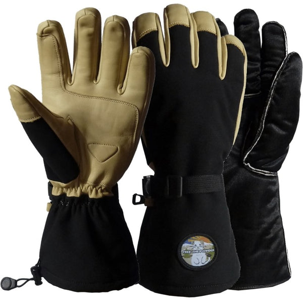 removable liner ski gloves