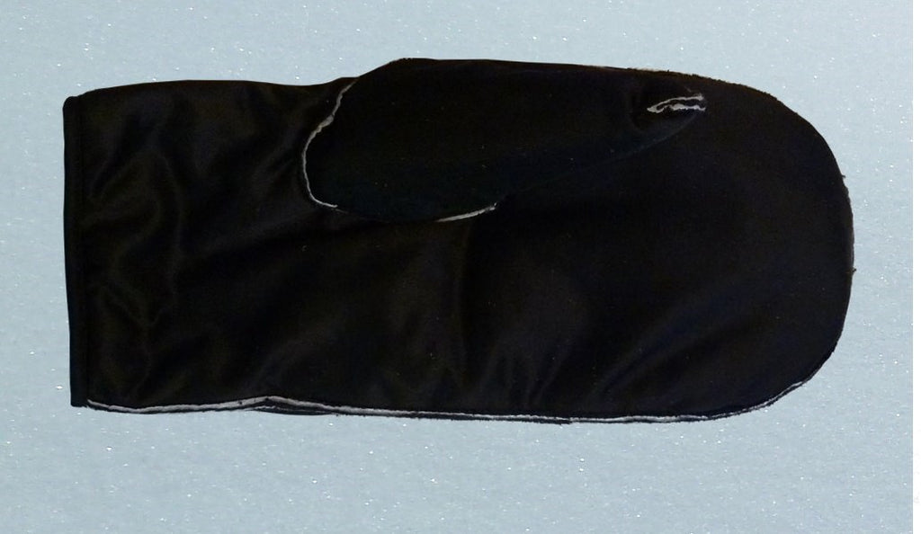 removable liner short cuff mitten