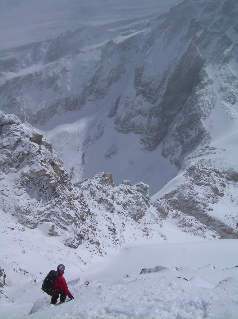 Ski mountaineering, Tetons Wyoming