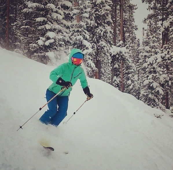 skiing colorado powder