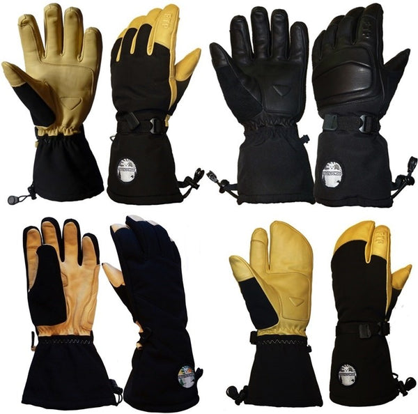 long cuff ski glove (over-the-cuff)