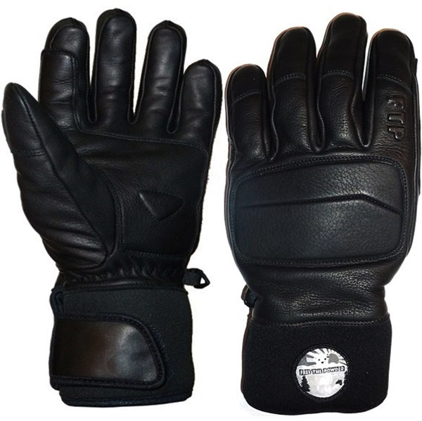 Free the Powder leather ski glove