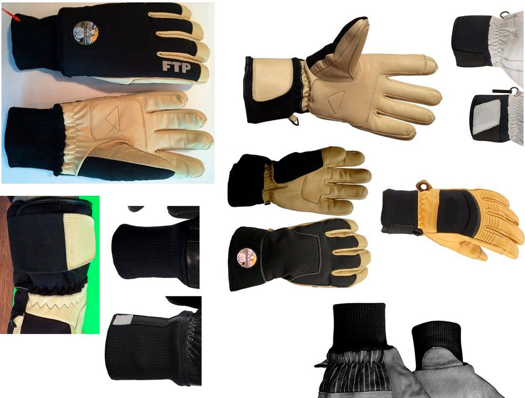 choosing short cuff ski gloves