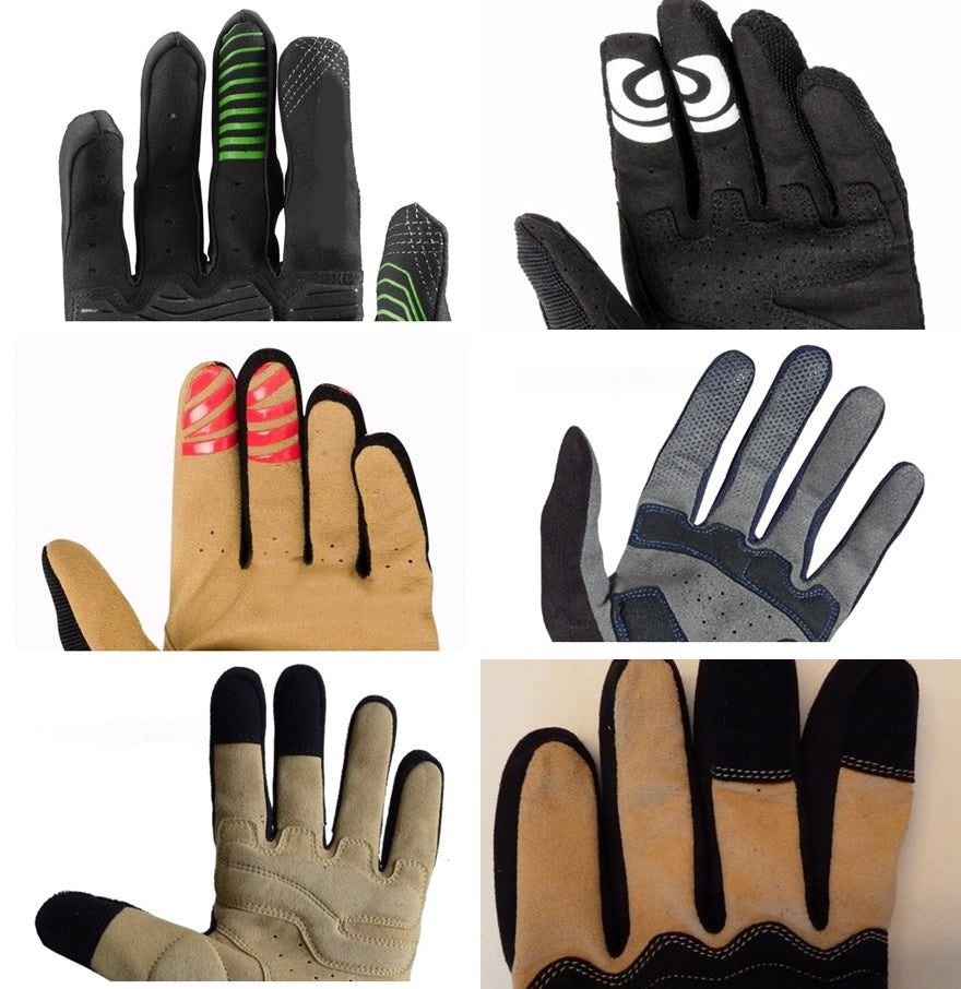 touch screen fingers mtb gloves