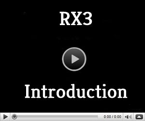 video page for RX3 Ski glove