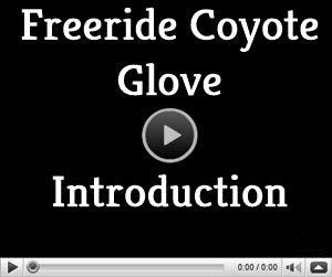 video page for Freeride Coyote ski glove