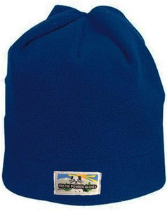 Free the Powder Logo Fleece Beanie in Blue