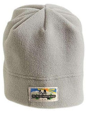 Load image into Gallery viewer, Free the Powder Logo Fleece Beanie in Stone