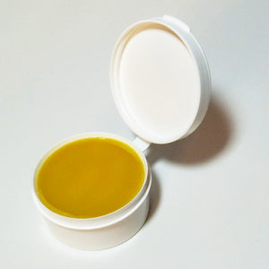 Free the Powder leather balm beeswax