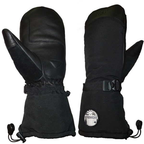 battery powered heated ski gloves