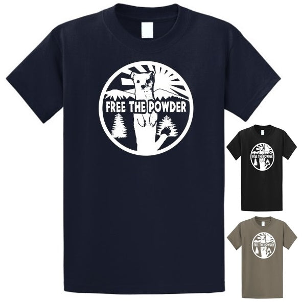 Free the Powder Logo T-Shirt