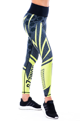 Sumezu - womens leggings line left