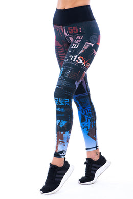 Sumezu - womens leggings urban right