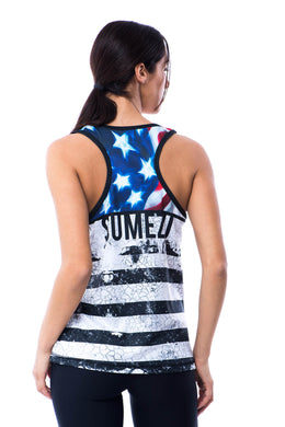 Sumezu- womens tank digital used side
