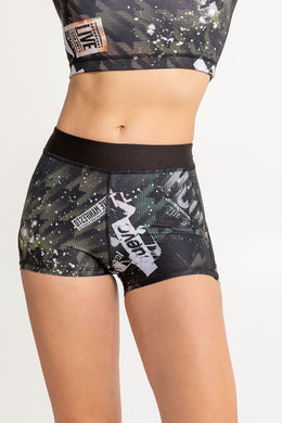 Women Fitness Shorts Live