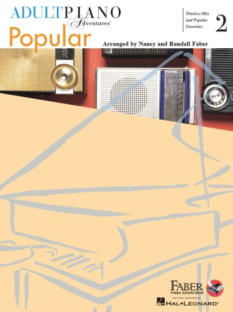 Faber Adult Piano Adventures Popular Book 2