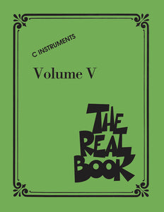 The Real Book - C Edition - Volume V