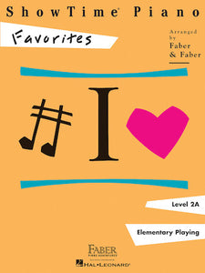 Faber Piano Adventures ShowTime Piano Favorites Level 2A