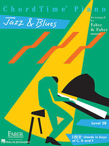 Faber Piano Adventures ChordTime Piano Jazz & Blues Level 2B