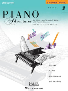 Faber Piano Adventures Level 3A Theory Book