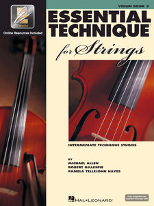 Essential Technique for Strings Book 3 for Violin