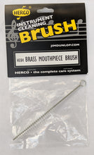 Load image into Gallery viewer, Herco Brass Mouthpiece Brush