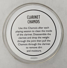 Load image into Gallery viewer, Herco Clarinet Chamois