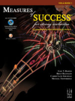 Measures of Success Book 1 for Viola