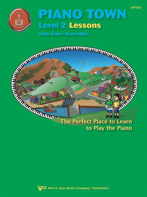 Piano Town: Lessons - Level 2