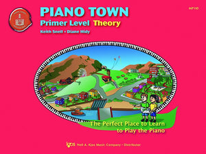Piano Town: Theory- Primer Level