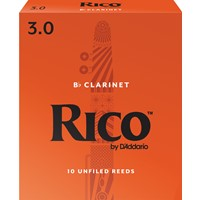 Rico Clarinet Reeds 3.0 -10 Pack