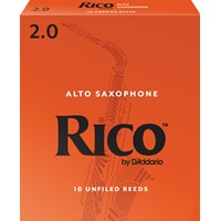 Rico Alto Saxophone Reeds 2.0 - 10 Pack