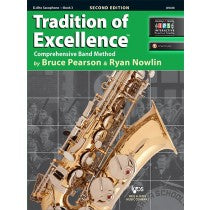 Tradition of Excellence Book 3 for Alto Saxophone