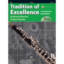 Tradition of Excellence Book 3 for Oboe