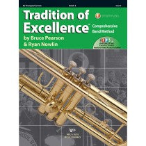 Tradition of Excellence Book 3 for Trumpet